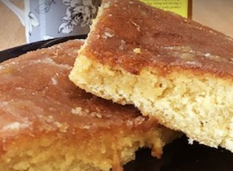 Almond & Lemon Drizzle Cake