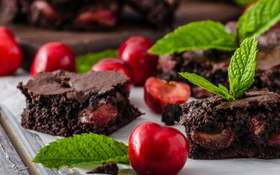 Chocolate Cherry Brownies